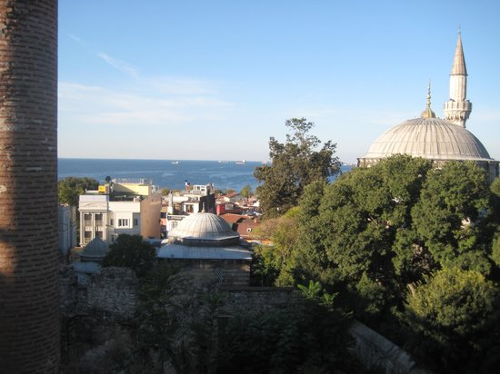 Ada Hotel Istanbul: a room with a view