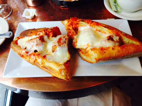 Daniela Trattoria: Meatball Sandwich