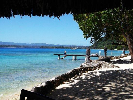 Paradise Cove Resort: Looking toward Port Vila