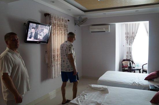 Victorian Nha Trang Hotel : Номер Де люкс с двумя кроватями