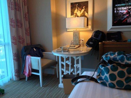 Desk area picture of margaritaville resort casino for Margaritaville hotel decor