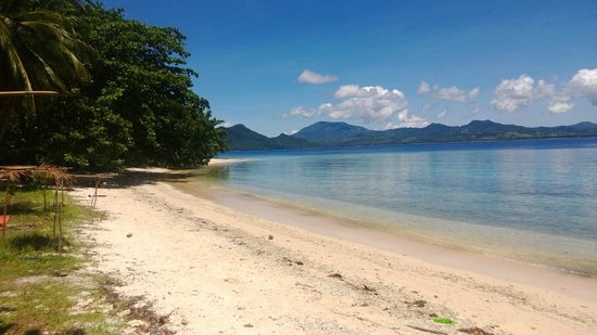 Hinunangan, Filippinene: San Pablo Island Beach