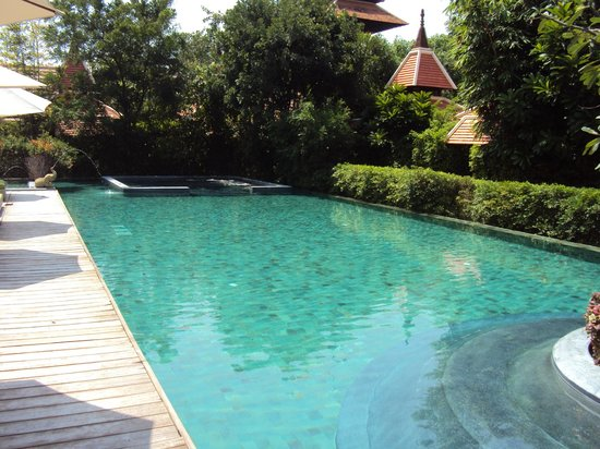 Siripanna Villa Resort & Spa: poolside
