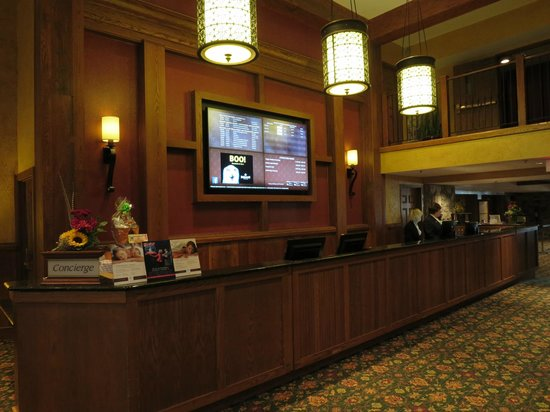 Hershey Lodge: Concierge Desk