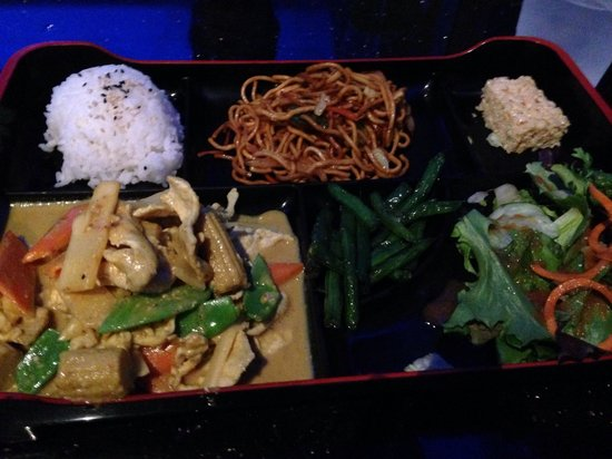 Coconut Chicken Curry Bento Box Picture Of Bento Asian
