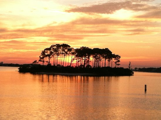 Sunset Grille: Sunset at ... where else?  The Sunset Grill in Perdido Key