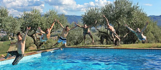 Villa Pianciani: Fun in the sun!