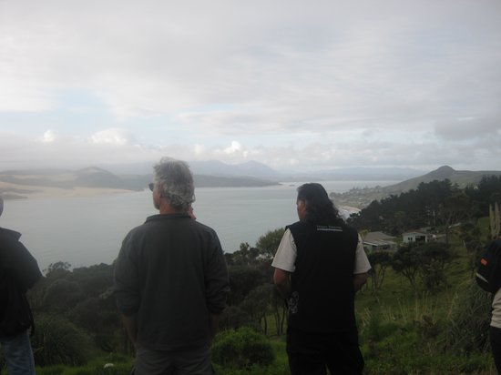 Footprints Waipoua: Our first stop ...