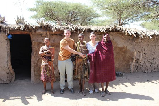 Bright African Safaris: My wife and I with the Tatoga Tribe