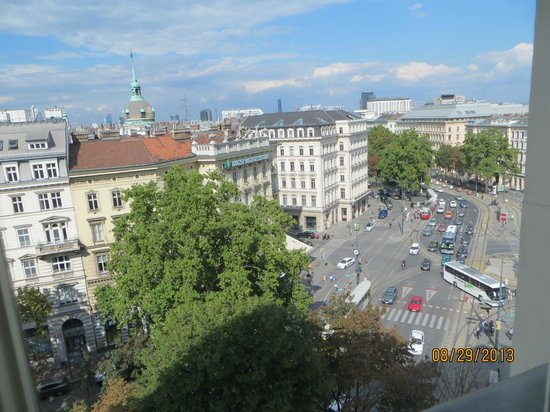 Hotel Imperial Vienna: View from room