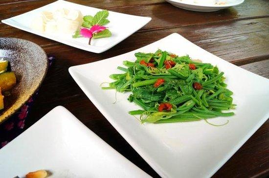 Shizi Hongle B&B: 時蔬-龍鬚菜