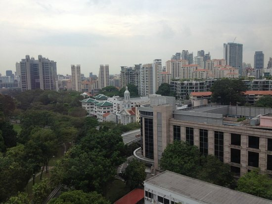 Fort Canning Lodge: View outside my room