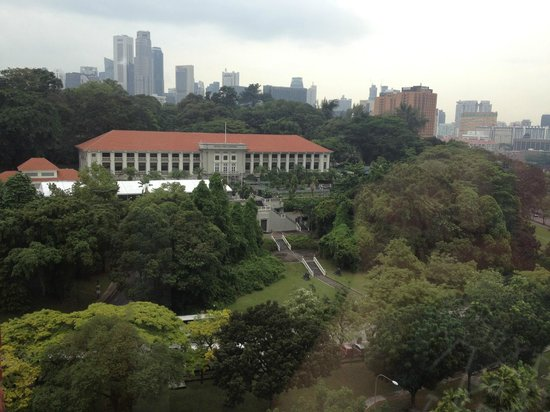 YWCA Fort Canning Lodge: View outside my room