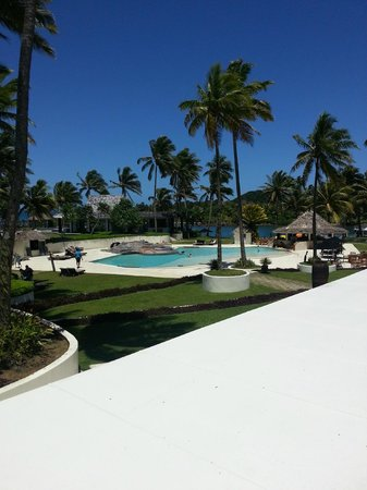 The Pearl Resort: The pool area.