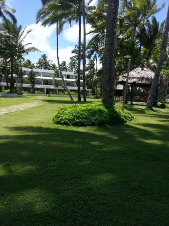The Pearl Resort: Grounds of the hotel.