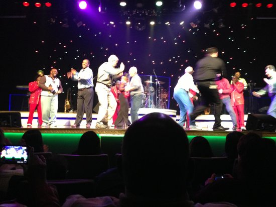 Soul Of Motown: Men on the stage dancing