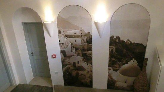 """Andronis Luxury Suites: Floor of  """"5 Apollo""""."""