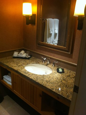 The Westin Resort & Spa, Whistler : Deluxe Studio Suite - Bathroom