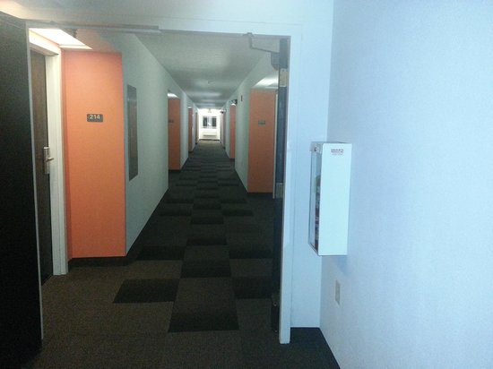 Motel 6 Pittsburgh Airport: Hallway