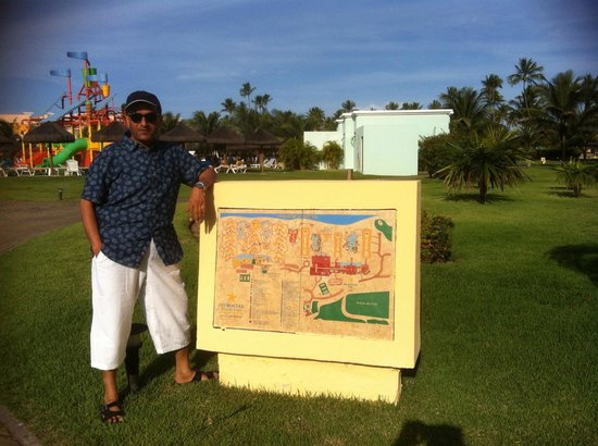 Iberostar Praia do Forte: Map of the Hotel