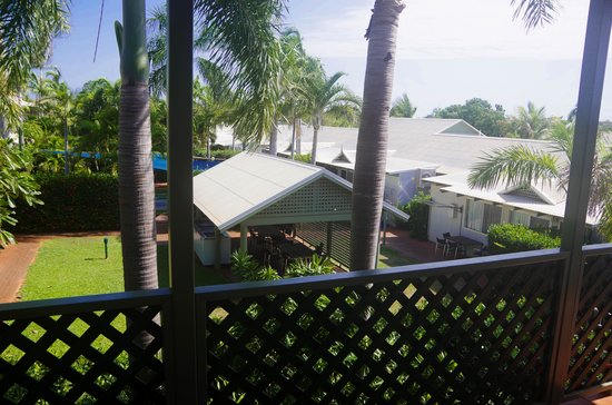 Cable Beachside Villas: View from spacious Balcony