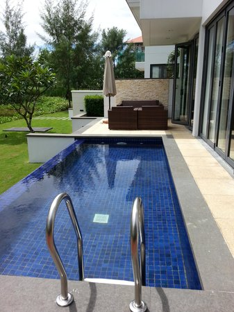 The Ocean Villas: Villa private pool