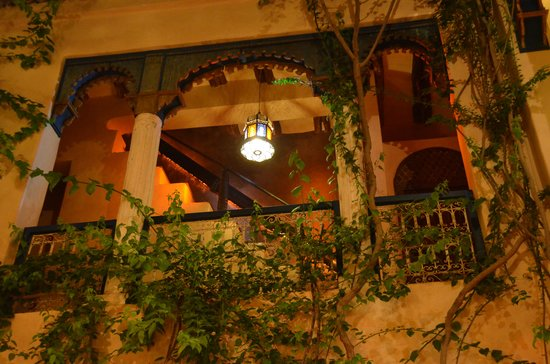 Riad Armelle : Inner courtyard