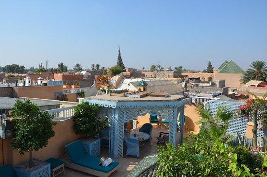 Riad Armelle: Rooftop terrace