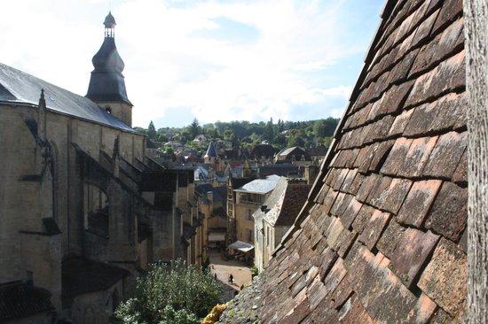 La Lanterne : view from sitting room window
