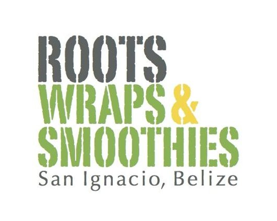 Roots Wraps & Smoothies: Our Logo