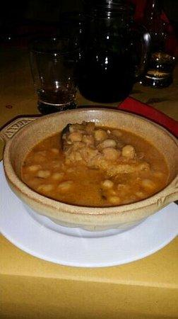Il Casale di Mario: una squisita zuppa di ceci