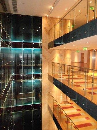 Hilton Budapest City : A l'intérieur de l'hôtel waouw !