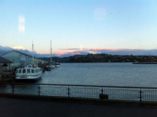 Customhouse: The view from the restaurant.