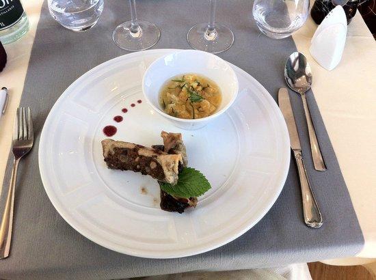 Radiana Hotel La Lechere : Nems au chocolat
