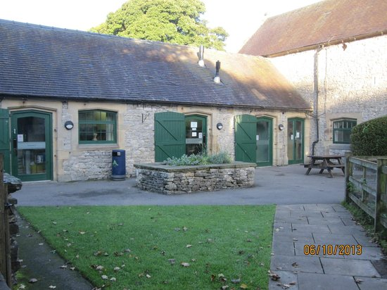 YHA Hartington Hall: The annexe with self catering kitchen and laundry etc