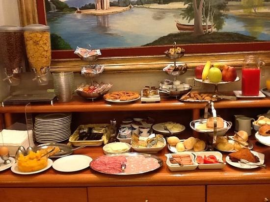 Hotel Golden: breakfast choices