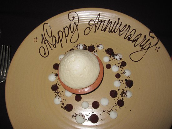 Table 9 : Chocolate Hazel nut dessert