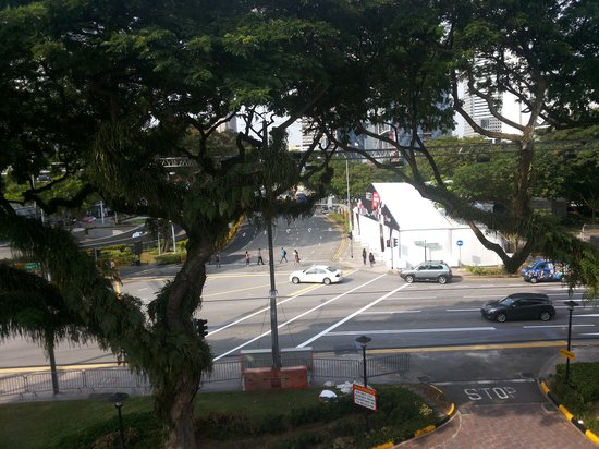 The Residence At Singapore Recreation Club: Вид с террасы