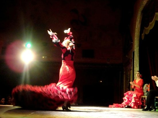 Flamenco in sevilla picture of seville province of for Espectaculo flamenco seville sevilla