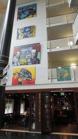 WestCord Art Hotel Amsterdam: Salão/entrada