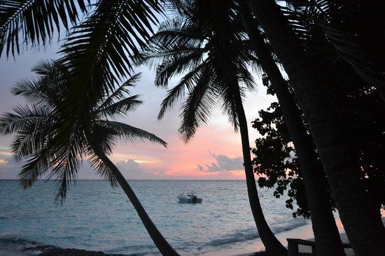 Fihalhohi Island Resort: Закат