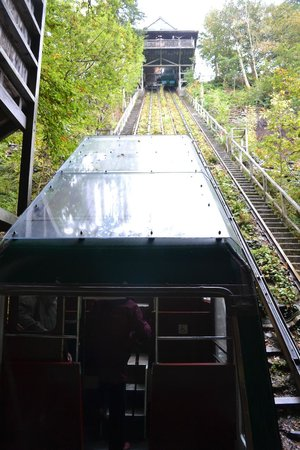 Centre for Alternative Technology: The water balanced rail system...