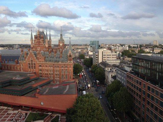 Vistas desde la habitaci n picture of pullman london st pancras hotel lond - Hotel pullman saint pancras ...