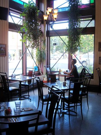 Silverwater Cafe : from center of room looking out