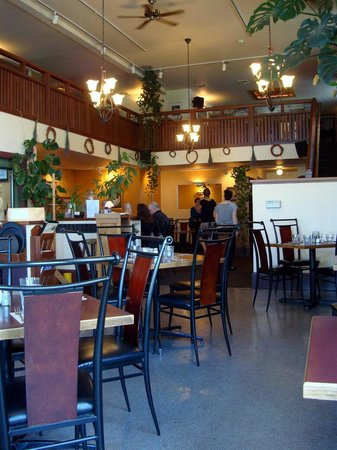 Silverwater Cafe : from windows looking toward center of dining room