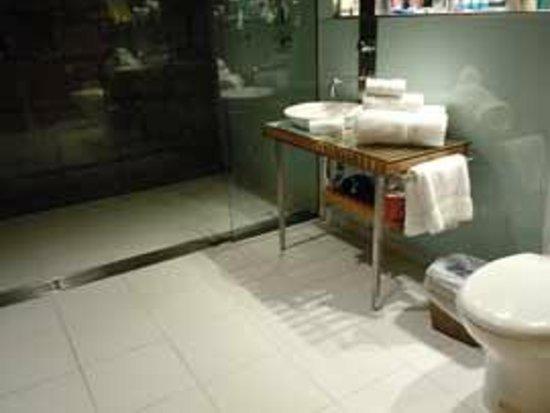 The Henry Jones Art Hotel: shower room