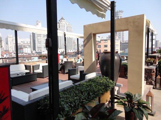 Ssaw Boutique Hotel Shanghai Bund Outdoor Restaurant At