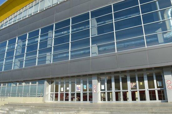 Sport Center Boris Trajkovski: The enterence