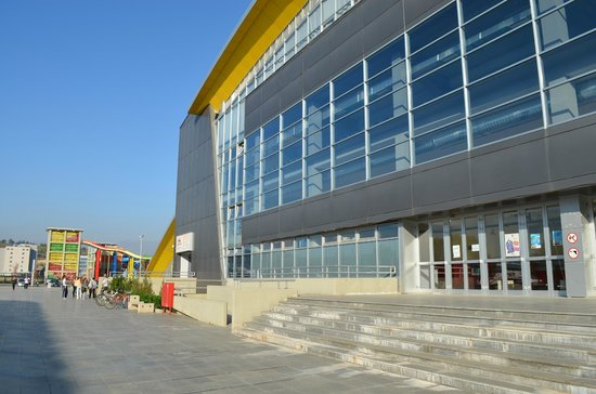 Sport Center Boris Trajkovski: Great structure