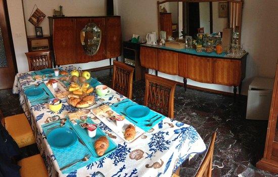 Casale al Mare: Sala colazioni